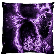 Space Large Flano Cushion Case (one Side) by Valentinaart