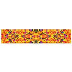 Colorful Vibrant Ornate Flano Scarf (small) by dflcprintsclothing