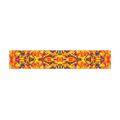 Colorful Vibrant Ornate Flano Scarf (mini) by dflcprintsclothing
