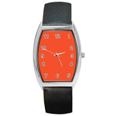 Trendy Basics   Trend Color Flame Barrel Style Metal Watch by tarastyle