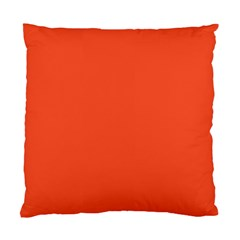 Trendy Basics   Trend Color Flame Standard Cushion Case (one Side) by tarastyle
