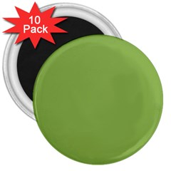 Trendy Basics   Trend Color Greenery 3  Magnets (10 Pack)  by tarastyle