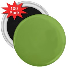 Trendy Basics   Trend Color Greenery 3  Magnets (100 Pack) by tarastyle