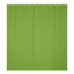 Trendy Basics   Trend Color Greenery Shower Curtain 66  X 72  (large)  by tarastyle