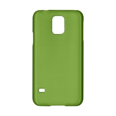 Trendy Basics   Trend Color Greenery Samsung Galaxy S5 Hardshell Case  by tarastyle