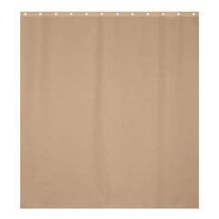 Trendy Basics   Trend Color Hazelnut Shower Curtain 66  X 72  (large)  by tarastyle