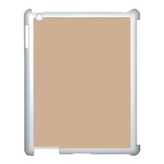Trendy Basics   Trend Color Hazelnut Apple Ipad 3/4 Case (white) by tarastyle