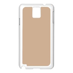 Trendy Basics   Trend Color Hazelnut Samsung Galaxy Note 3 N9005 Case (white) by tarastyle