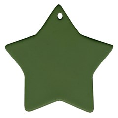 Trendy Basics   Trend Color Kale Ornament (star) by tarastyle