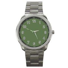 Trendy Basics   Trend Color Kale Sport Metal Watch by tarastyle