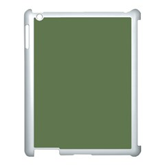 Trendy Basics   Trend Color Kale Apple Ipad 3/4 Case (white) by tarastyle