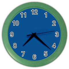 Trendy Basics   Trend Color Lapis Blue Color Wall Clocks by tarastyle