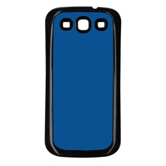 Trendy Basics   Trend Color Lapis Blue Samsung Galaxy S3 Back Case (black) by tarastyle