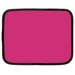 Trendy Basics   Trend Color Pink Yarrow Netbook Case (xxl)  by tarastyle