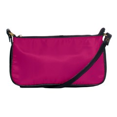 Trendy Basics   Trend Color Pink Yarrow Shoulder Clutch Bags by tarastyle