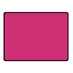 Trendy Basics   Trend Color Pink Yarrow Fleece Blanket (small) by tarastyle
