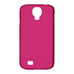 Trendy Basics   Trend Color Pink Yarrow Samsung Galaxy S4 Classic Hardshell Case (pc+silicone) by tarastyle