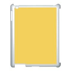 Trendy Basics   Trend Color Primerose Yellow Apple Ipad 3/4 Case (white) by tarastyle