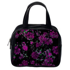 Floral Dreams 12 A Classic Handbags (one Side) by MoreColorsinLife