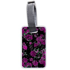 Floral Dreams 12 A Luggage Tags (one Side)  by MoreColorsinLife