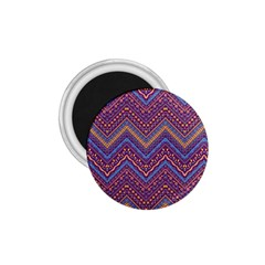 Colorful Ethnic Background With Zig Zag Pattern Design 1 75  Magnets by TastefulDesigns