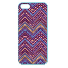 Colorful Ethnic Background With Zig Zag Pattern Design Apple Seamless Iphone 5 Case (color) by TastefulDesigns