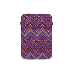 Colorful Ethnic Background With Zig Zag Pattern Design Apple Ipad Mini Protective Soft Cases by TastefulDesigns