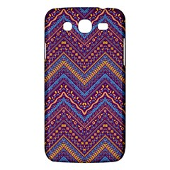 Colorful Ethnic Background With Zig Zag Pattern Design Samsung Galaxy Mega 5 8 I9152 Hardshell Case  by TastefulDesigns