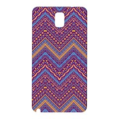 Colorful Ethnic Background With Zig Zag Pattern Design Samsung Galaxy Note 3 N9005 Hardshell Back Case