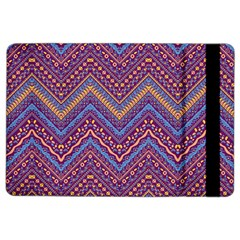 Colorful Ethnic Background With Zig Zag Pattern Design Ipad Air 2 Flip by TastefulDesigns