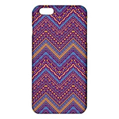 Colorful Ethnic Background With Zig Zag Pattern Design Iphone 6 Plus/6s Plus Tpu Case by TastefulDesigns