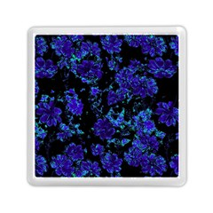 Floral Dreams 12 B Memory Card Reader (square)  by MoreColorsinLife