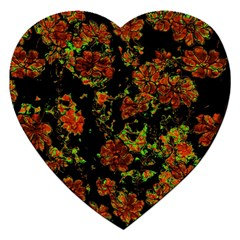 Floral Dreams 12 C Jigsaw Puzzle (heart) by MoreColorsinLife