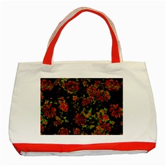 Floral Dreams 12 C Classic Tote Bag (red)