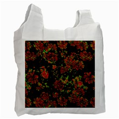 Floral Dreams 12 C Recycle Bag (one Side) by MoreColorsinLife