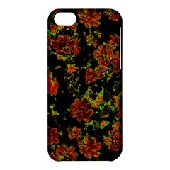 Floral Dreams 12 C Apple Iphone 5c Hardshell Case by MoreColorsinLife