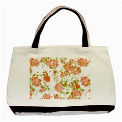Floral Dreams 12 D Basic Tote Bag (two Sides) by MoreColorsinLife