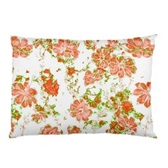 Floral Dreams 12 D Pillow Case by MoreColorsinLife