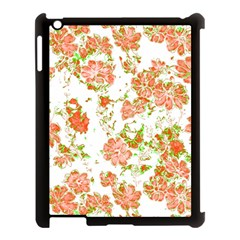 Floral Dreams 12 D Apple Ipad 3/4 Case (black) by MoreColorsinLife