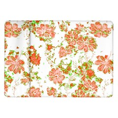 Floral Dreams 12 D Samsung Galaxy Tab 10 1  P7500 Flip Case by MoreColorsinLife