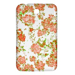 Floral Dreams 12 D Samsung Galaxy Tab 3 (7 ) P3200 Hardshell Case  by MoreColorsinLife