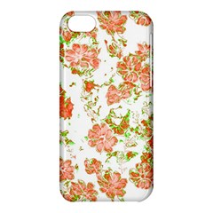 Floral Dreams 12 D Apple Iphone 5c Hardshell Case by MoreColorsinLife