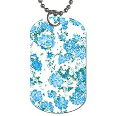 Floral Dreams 12 E Dog Tag (two Sides) by MoreColorsinLife