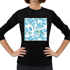 Floral Dreams 12 E Women s Long Sleeve Dark T-shirts by MoreColorsinLife