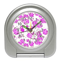 Floral Dreams 12 F Travel Alarm Clocks by MoreColorsinLife