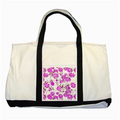 Floral Dreams 12 F Two Tone Tote Bag by MoreColorsinLife