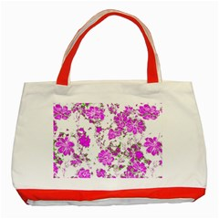 Floral Dreams 12 F Classic Tote Bag (red) by MoreColorsinLife