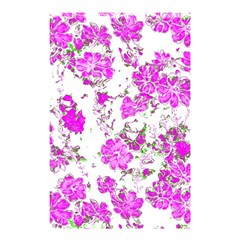 Floral Dreams 12 F Shower Curtain 48  X 72  (small)  by MoreColorsinLife
