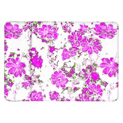 Floral Dreams 12 F Samsung Galaxy Tab 8 9  P7300 Flip Case by MoreColorsinLife