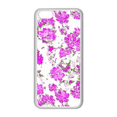 Floral Dreams 12 F Apple Iphone 5c Seamless Case (white) by MoreColorsinLife